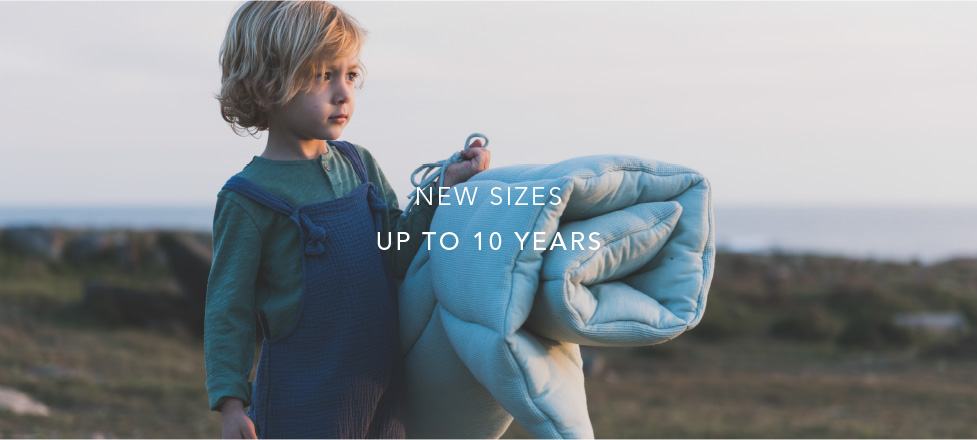 New Sizes Up to 10 Years