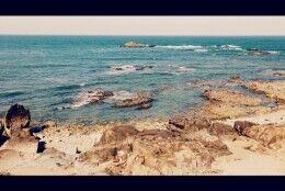 [dias felizes] o mar da manhã