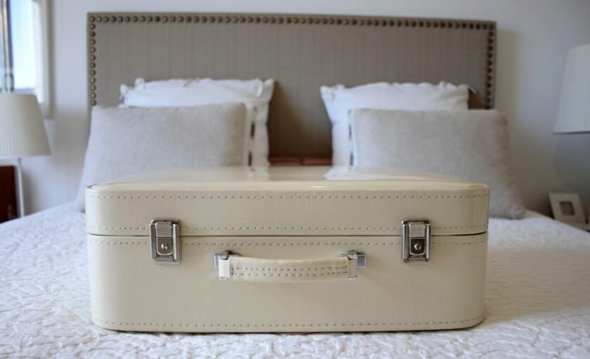[preparando a chegada da Camila] a minha mala para a maternidade