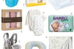 os meus essenciais para o bebé