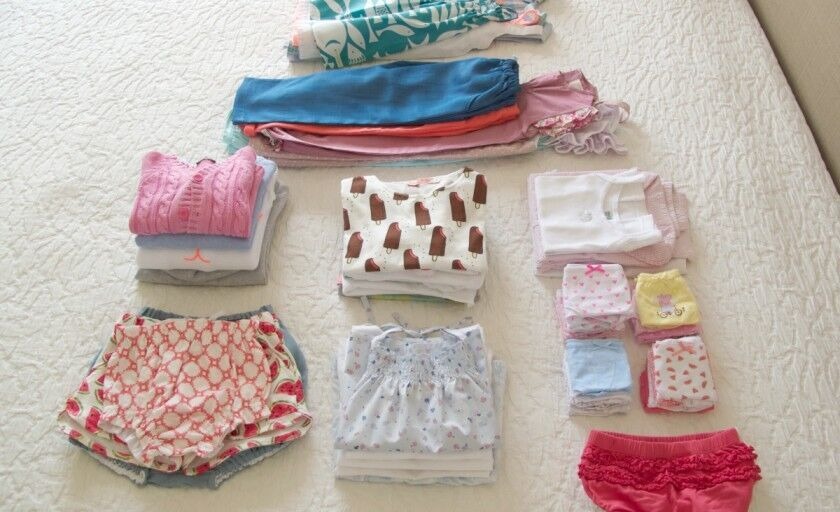 [viajar com crianças] roupa para 20 dias